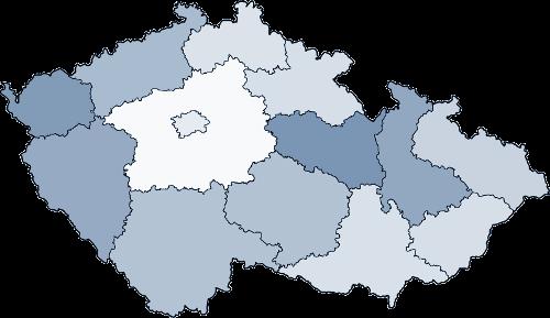 mapa partnerů